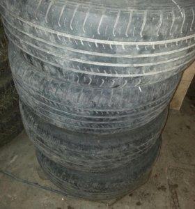 Литые диски на форд с резиной