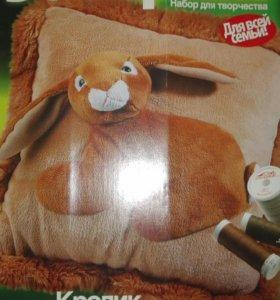"""Сделай сам """" подушка кролик"""""""
