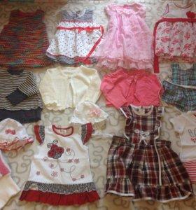 Одежда на девочку 80 размер