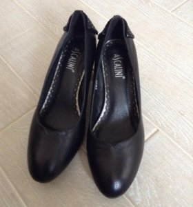 Кожаные туфли 41 размера
