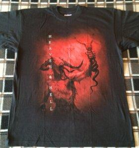 Туровая футболка Heaven&Hell + диск