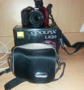 Nikon COOLPIX.  L 820