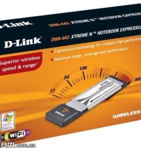 Wifi адаптер expresscard D-link