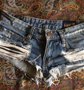 Продам шорты джинсовые.привезены с Турции
