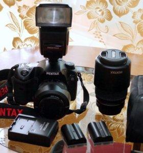 фотоаппарат цифровой зеркальный  Pentax K20D