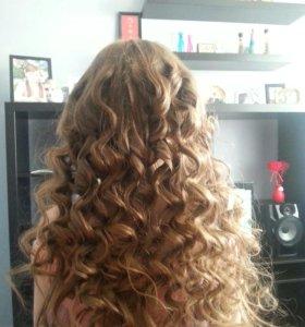Наращивание волос (выезд на дом)