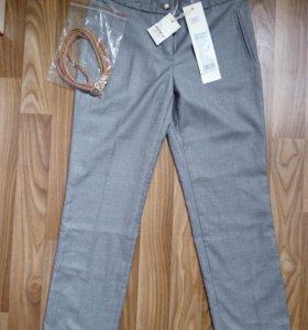 Школьные брюки и юбки серые