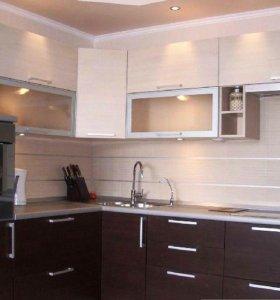 Кухонный гарнитур с акриловым покрытием