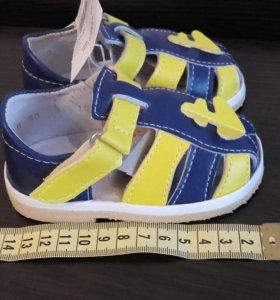 Туфли ясельного типа, размер 10-14