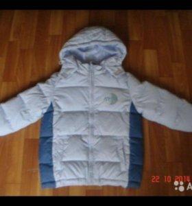 Куртка-пуховик на 104-110 см