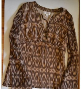 Туника блуза блузка m