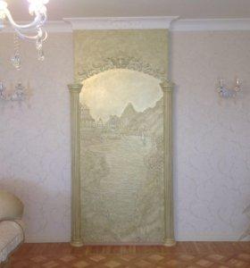 Декоративные покрытия для стен и потолков