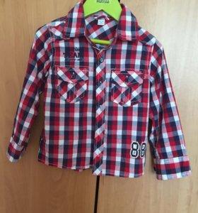 Детская рубашка + кепка