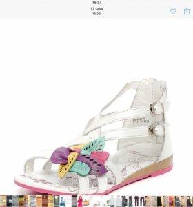 Новые сандалили фирмы Темпо