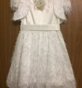 Платье нарядное для девочки. (116-128).