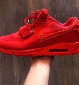 Кроссовки Nike air yeezy