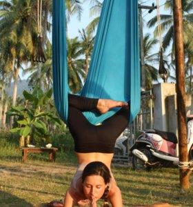 Гамак для воздушной йоги и фитнеса