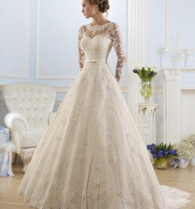 Свадебное платье шикарное
