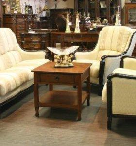 Старинное трио диванчиков из Голландии.