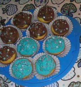 Капкейки,пироги,кексы