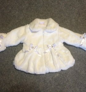 Милейшая курточка(шубка)на девочку  68-74
