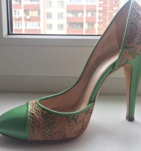 Casadei,37 размер, зеленые