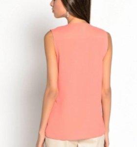 Блузка персиковая 54 р