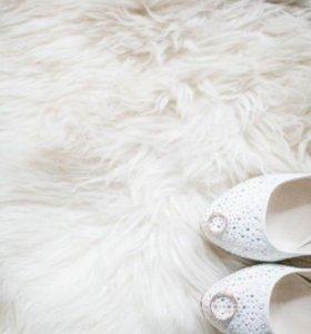 Свадебные туфли новые(35р-р)