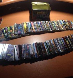 Коллекция карточек Человек-Паук Герои и Злодеи