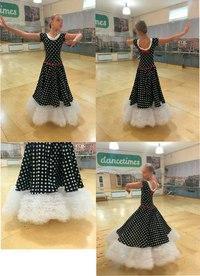 Платье  для бальных танцев стандарт Ю1