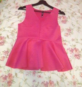 Блузка розовая !