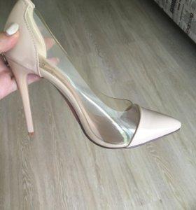 Туфли натур-кожа. Мягкие. Размер 38 очень мягкие