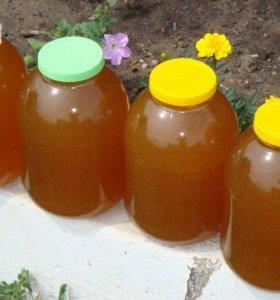 Цветочный мёд , со своей пасеки, натуральный
