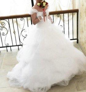 Великолепное свадебное платья Флоренция