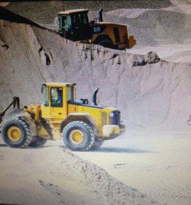 Песок, пгс, гравий, щебень, навоз, чернозем
