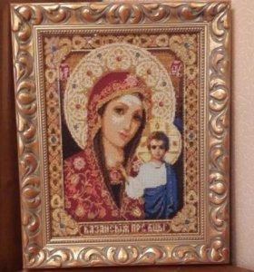 Икона из алмазной мозаики