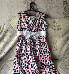 Летнее платье ( можно для беременных)