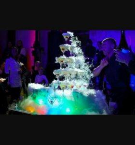 Пирамида из бокалов на ваши праздники