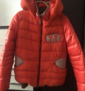 Куртка осень, зима тёплая, весна