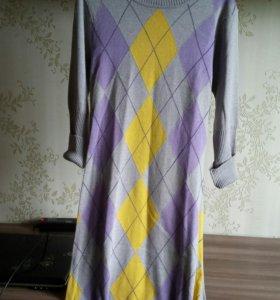 Платье теплое 40-42р.