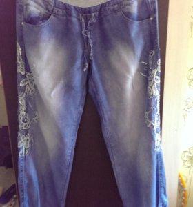 Летние джинсы р.46-48
