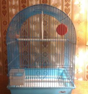 Клетка для попугайчика.