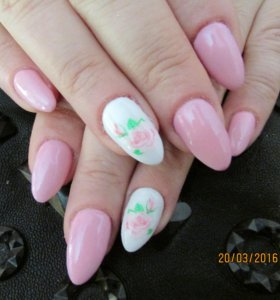 Наращивание ногтей и ресниц