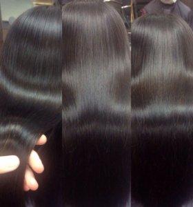Кератинирование, ботокс для волос, полировка волос