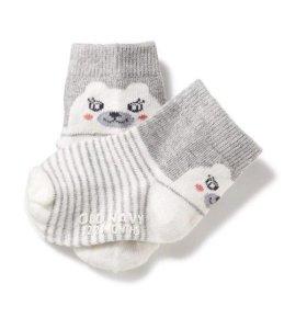 НОВЫЕ Детские носочки (с кошечкой и мишкой)