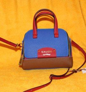 Новая сумочка из натуральной кожи GAUDE