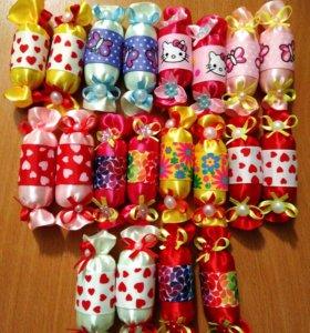 Резинки- конфетки для маленьких принцесс!!!