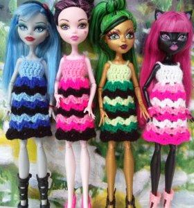 Сарафаны и сумочки для Monster High