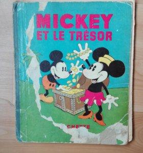 """Комикс """"Mickey Mouse Et Le Tresor"""""""