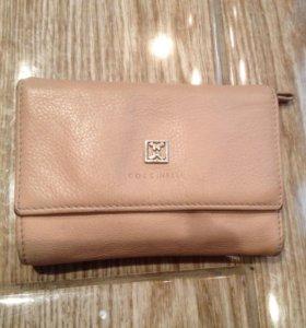 Кожаный кошелёк COCCINELLE